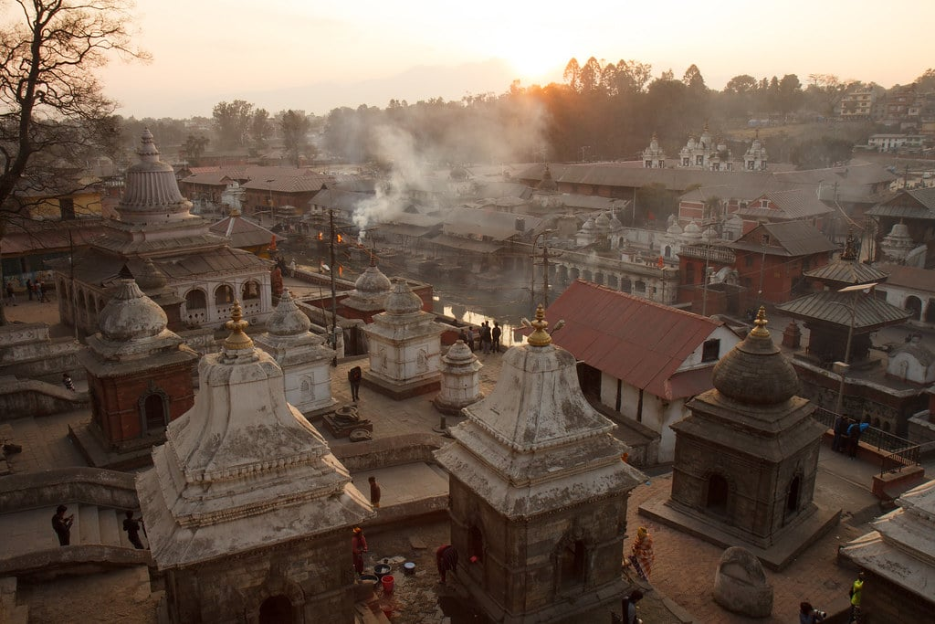 Pashupatinath: the place for hindu funeral rituals or antyeshti