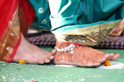 Saptapadi Ceremony in Hindu religion