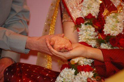 Kanyadan and Hasta Milap in Hindu Wedding Ceremony